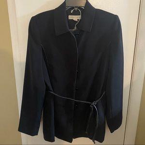Casual Corner Black Skirt Suit Size 4.